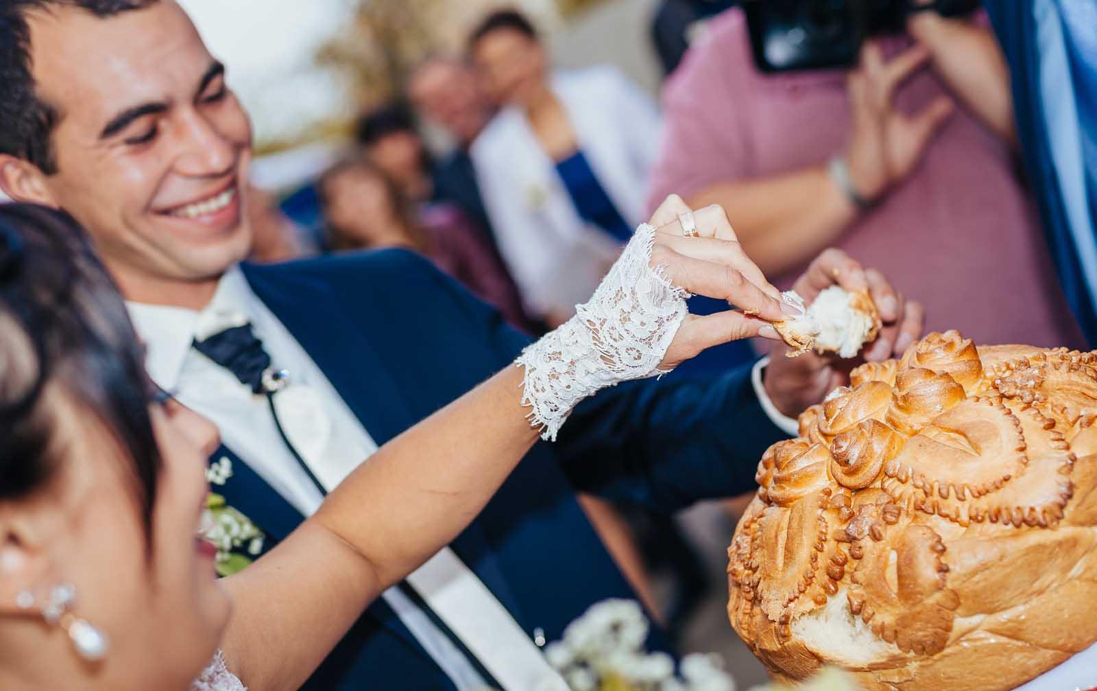 Polish Bread and salt ceremony